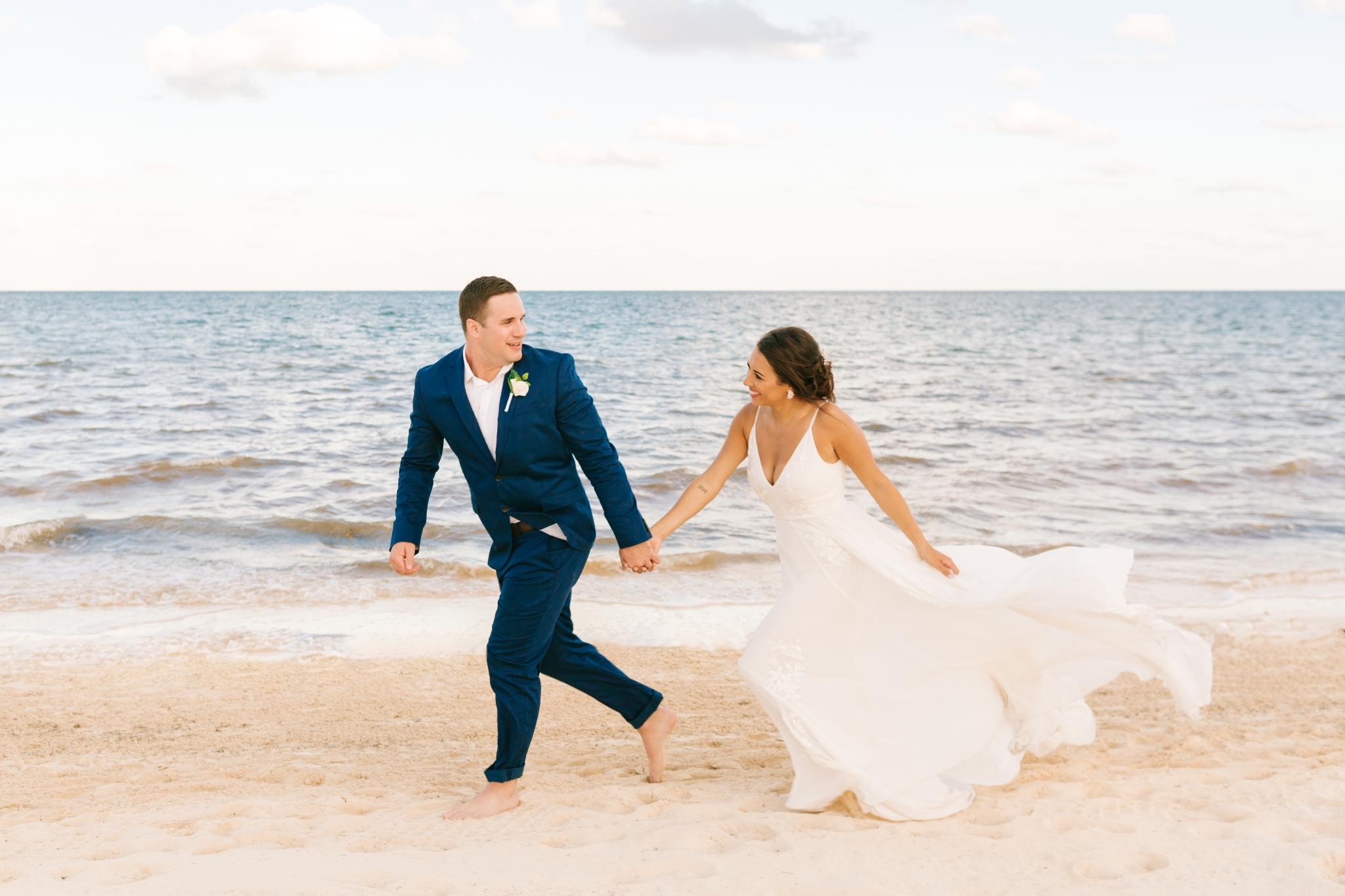 Destination Wedding At Moon Palace Cancun Taylor Derek Chelsea Renay North Carolina Wedding Photographer